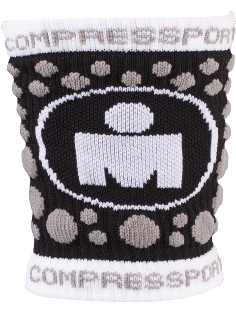 Compressport 3D Dots Sweatband Ironman Edition Black